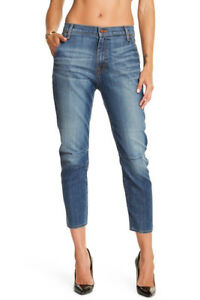 Skinny Dark Cropped Jimi Vintage Jean Women 28 Fidelity Denim Rare Slouchy Wash gARqwT7