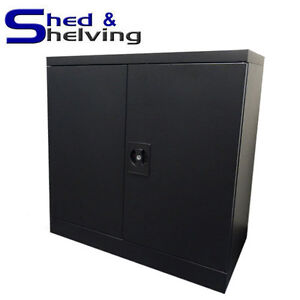 Image Is Loading Metal Wall Cabinet Cupboard Toolbox Office Shed Garage