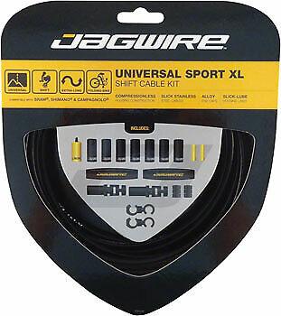 New Jagwire Universal Sport Shift XL Cable Kit  Black