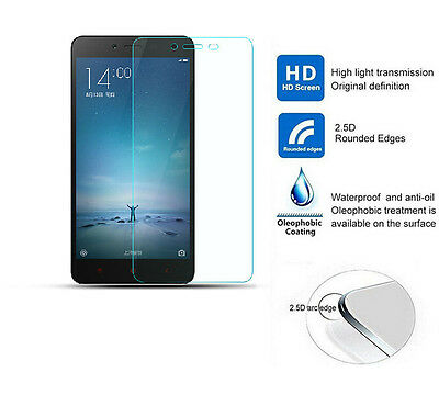 HD Real Tempered Glass Screen Protector for Xiaomi Redmi Hongmi Red Rice Note 2