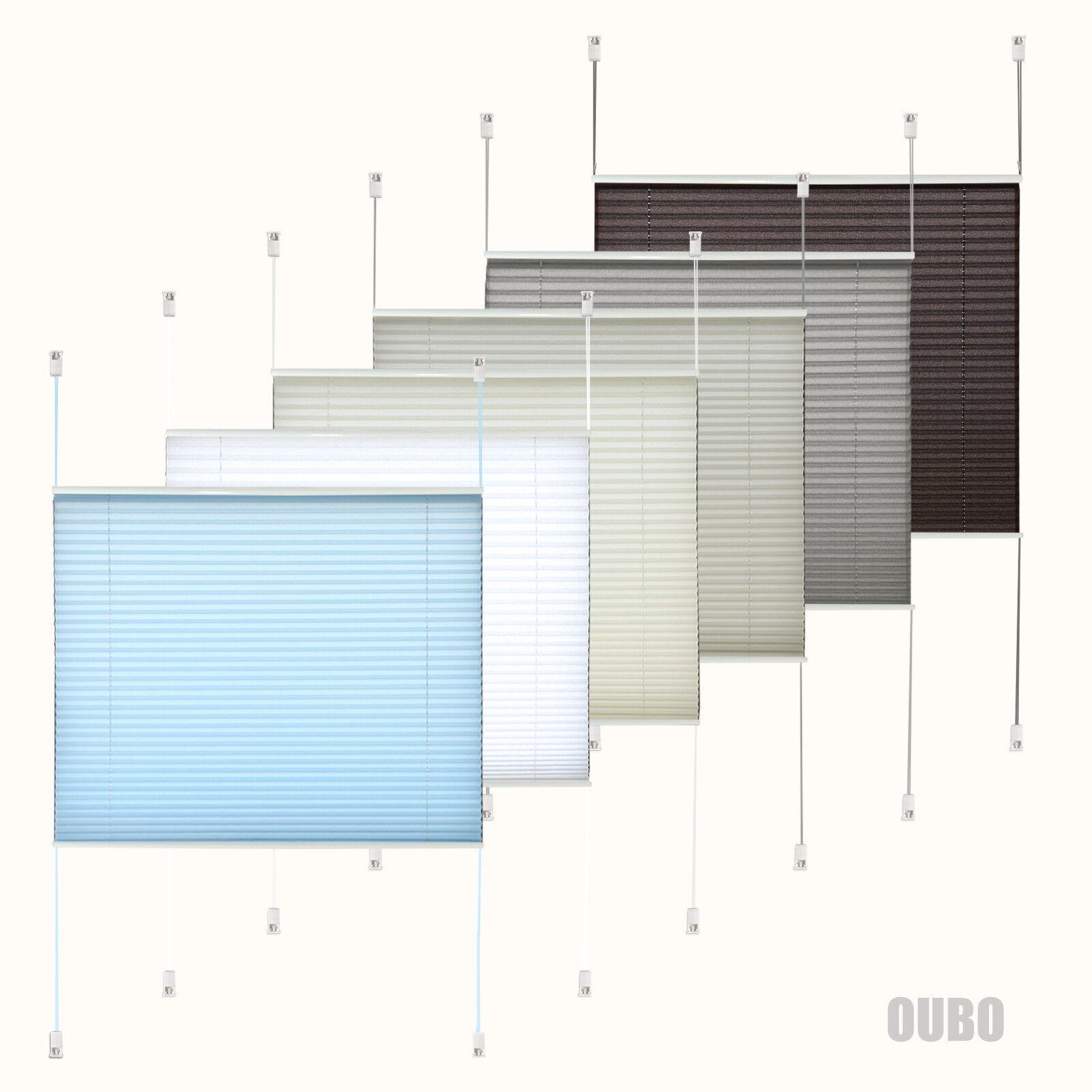 plissee klemmfix faltrollo ohne bohren pliseerollos f r. Black Bedroom Furniture Sets. Home Design Ideas