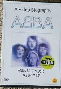 ABBA-A-Video-Biography-MV-Karaoke-Rare-Korean-Release-OOP-DVD