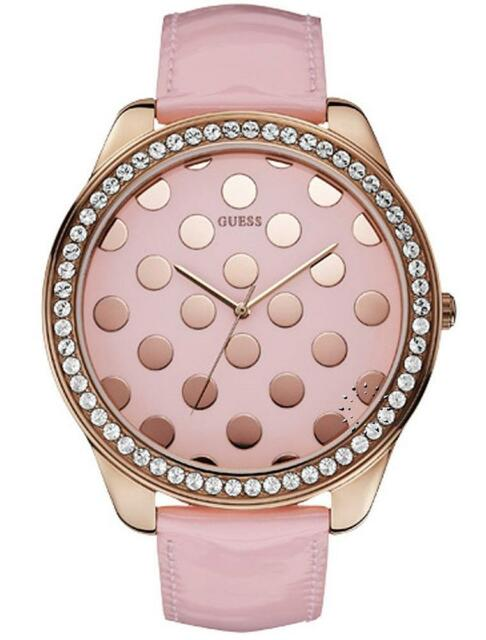d609efdc589f5 GUESS W0258L3 Women s Rose-gold Analog Watch With Pink Dial for sale ...