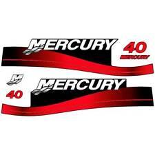 Mercury 40 outboard (1999-2004) decal aufkleber sticker set