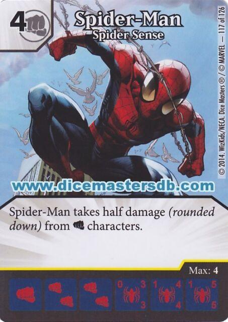 Spider-Man spider Sense #117 - Uncanny X-Men - Marvel Dice Masters