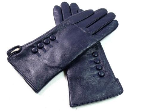 Premium Qualität Echtes Weiches Leder Handschuhe Ausgekleidet mit 10