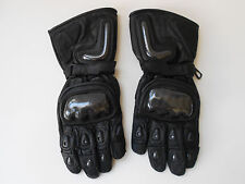 SCHOELLER KEPROTEC MOTORCYCLE LEATHER GLOVES MEN size M VERY NICE