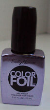 Sally Hansen Limited Edition Color Foil Polish Nail Art 410 PURPLE ALLOY