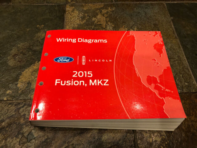 2015 Ford Fusion Lincoln Mkz Wiring Diagrams Electrical