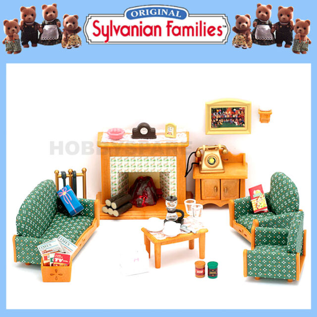 Sylvanian Families Country Living Room Set - for sale ...