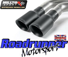 "Milltek Golf GTi MK5 Edition 30 Exhaust 3"" Turbo Back Race System & Cat Resonate"