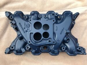 Details about 71 72 73 FORD MUSTANG 351C CLEVELAND OEM Q CODE CAST IRON 4V  INTAKE MANIFOLD CJ