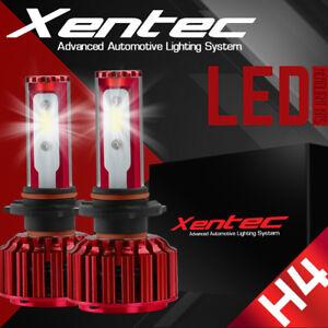 XENTEC LED HID Headlight Conversion kit H4 9003 6000K for 2004-2006 Scion xA