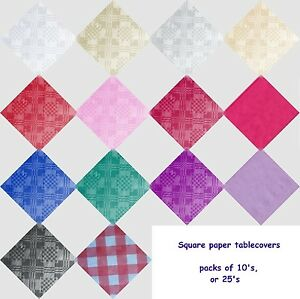SQUARE-PAPER-TABLECOVER-TABLE-COVERS-CLOTHS-PK-10-OR-25