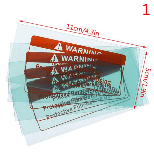5pcs Spare Welding Shield Cover Lens Protector Plate for Welding Helmet Mask SP