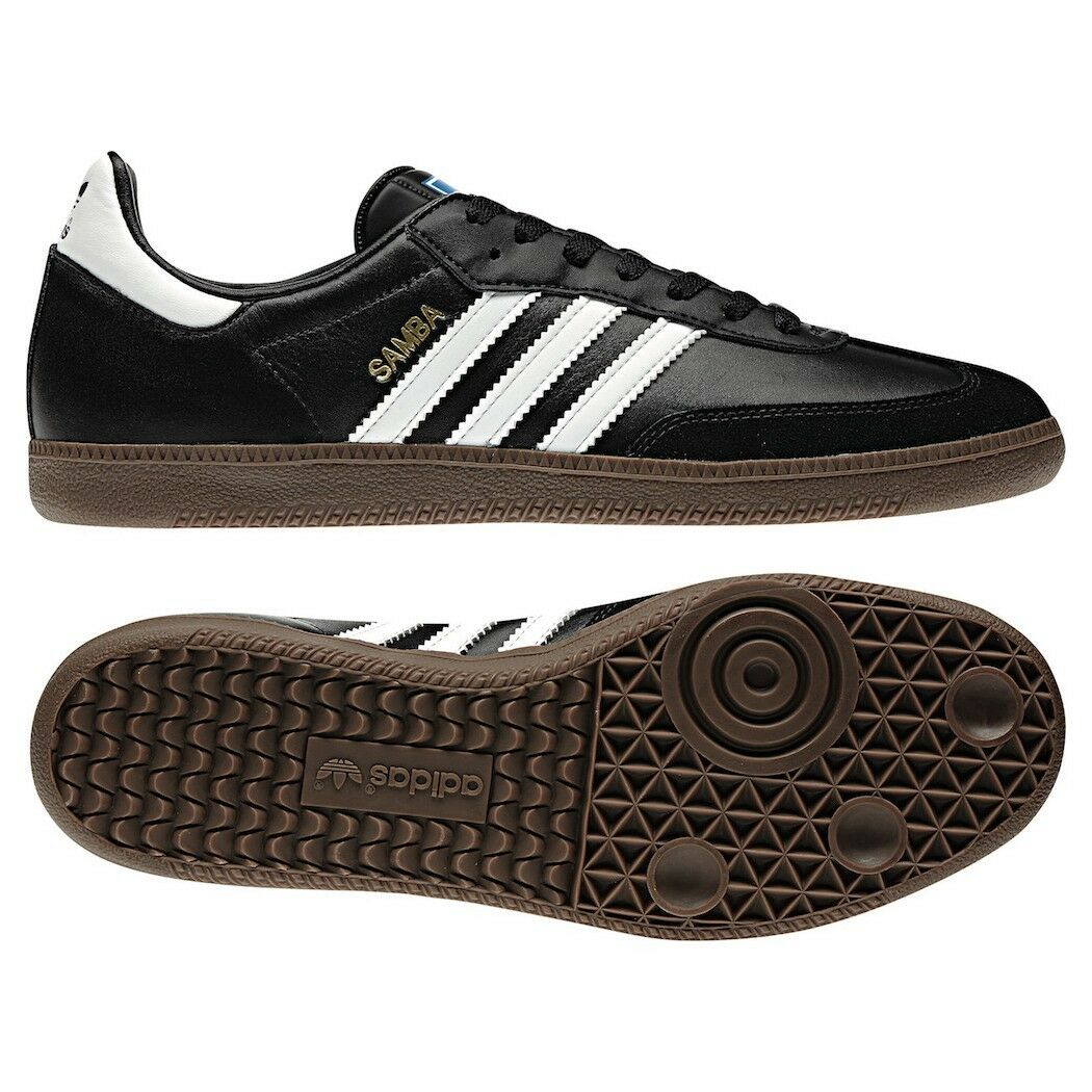adidas Originals Samba Sneaker schwarz/weiß Klassiker [G17100]