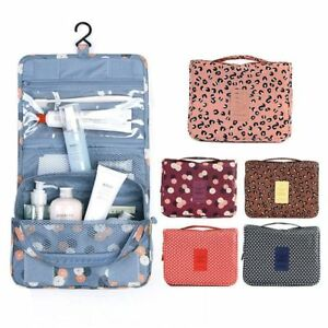 60b4e0fb63 Image is loading Portable-Hanging-Travel-Toiletry-Wash-Waterproof-Large- Capacity-