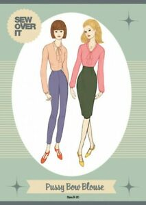 Sew-Over-It-Pussy-Bow-Blouse-Pattern-Sizes-8-to-20