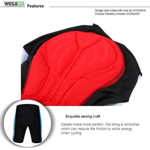 Men/'s Summer Cycling Sets  MTB Bike Riding Sportswear Jersey Padded Shorts Suit