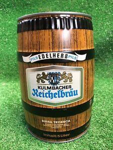 Rare-10-Inch-Vintage-Kulmbacher-Reichelbrau-5-Liter-Mini-Keg-German-Pilsner