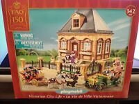 Playmobil 5955 Fao Schwarz Victorian City Life House Mansion In Box Add On