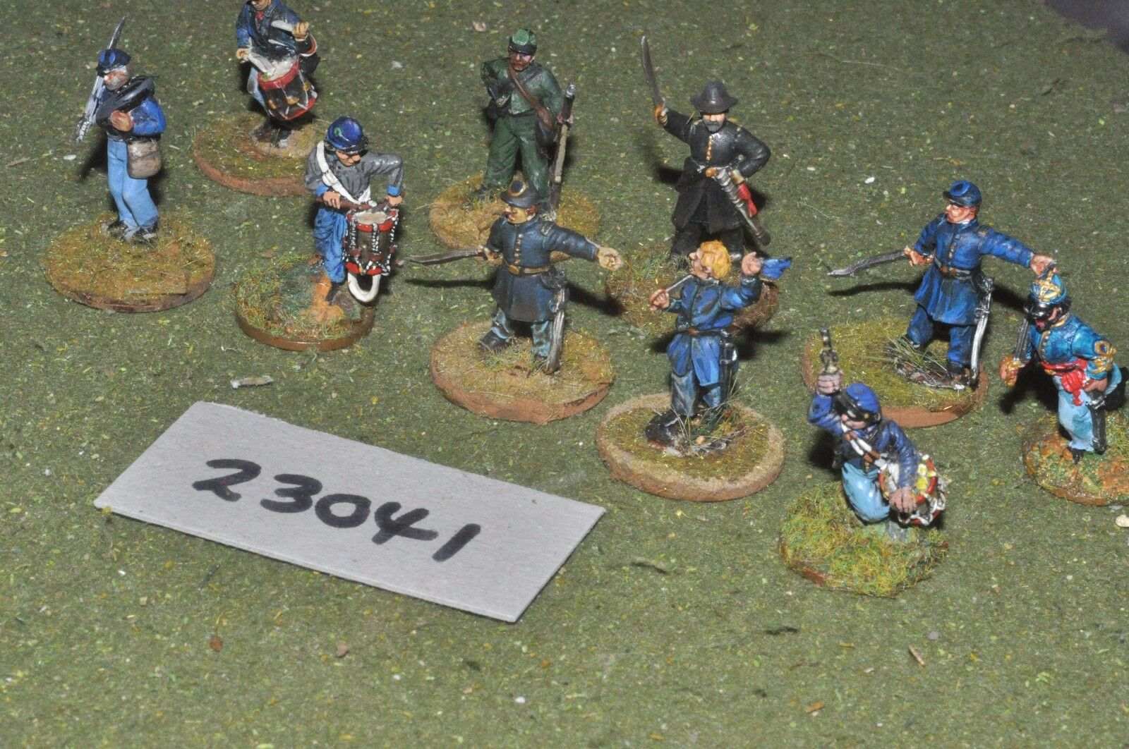 25mm ACW   union - markers 10 figures - inf (23041)