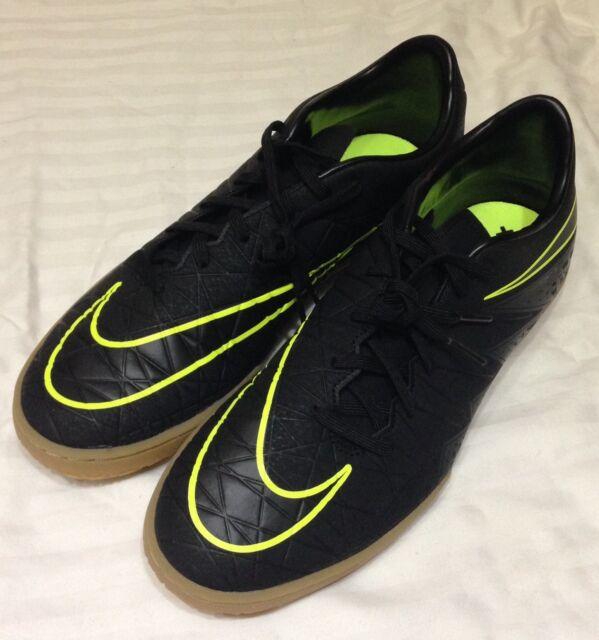 info for 9702d 3ee82 Nike Hypervenom Phelon II IC Black/Green Men's Soccer Shoes Sz 9/10  749898-009