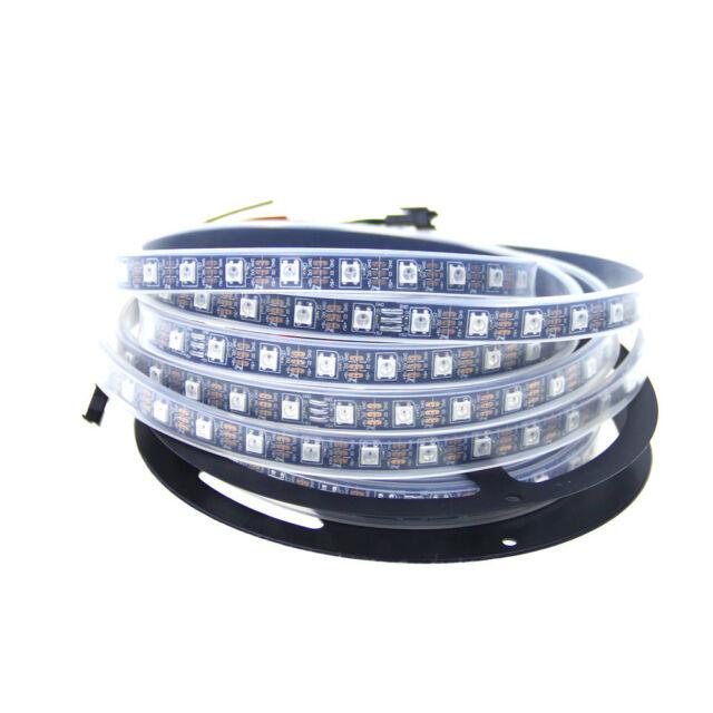 WS2812B RGB Pixel LED Strip Digital Addressable 60Leds/M 5050 SMD Black PCB 5V