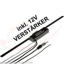 UKW Scheibenantenne AKTIV 12V Verstärker Fensterantenne AM/FM Verstärker