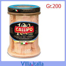 "Tonno naturale ""Callipo"" Riserva Oro Gr. 200"
