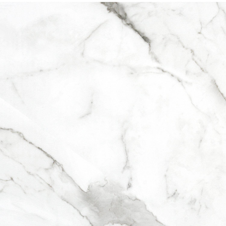 Bodenfliesen Marmoroptik Imperial Weiss Poliert 58x58cm