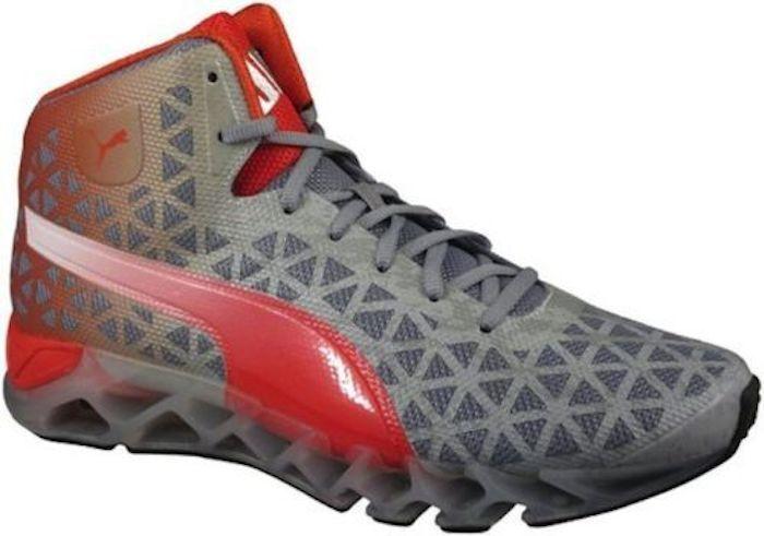 separation shoes f8179 199db Uomini puma powerlift piattaforma svanire scarpe scarpe scarpe tradewinds  alto grigio   red sz 10 nuovi
