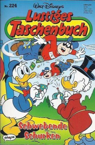 """Walt Disneys Lustiges Taschenbuch LTB 224 /""""Schwebende Schurken/"""" 1996"""