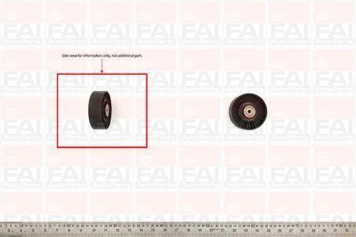 Belt Tensioner Pulley for VW TRANSPORTER 2.5 TDI T4 ACV Diesel FAI