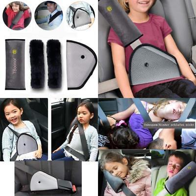 Kinder Gurtpolster,4 Packs für Auto Sicherheitsgurt Schulterpolster