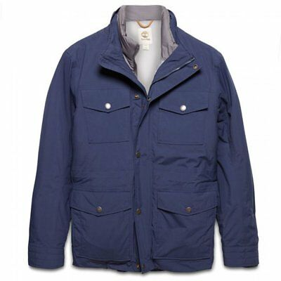Timberland Mens (E2) Navy Mount Clay 3-in-1 Waterproof Field Jacket All Sizes