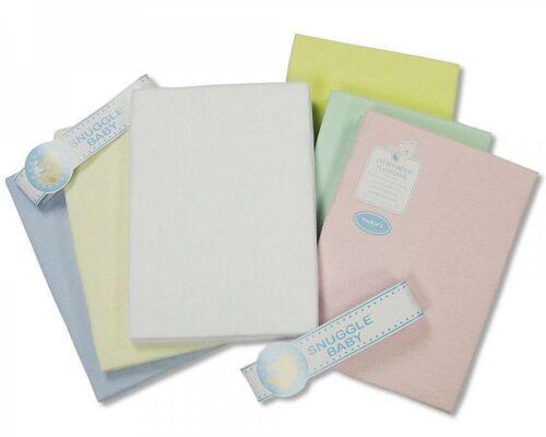 265 Snuggle Baby Flannelette Pram Sheet 2 Pack