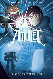 The-Stonekeeper-039-s-Curse-Amulet-by-Kibuishi-Kazu-NEW-Book-FREE-amp-Fast-Delive