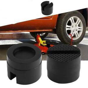 Universal-Car-Slotted-Rubber-Jacking-Jack-Pad-Adapter-Frame-Rail-Protector-Kit