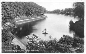Details About Bradford Chellow Dene The Lower Reservoir With Greetings Real Photo