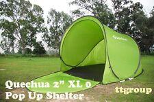 Quechua Waterproof Windproof Pop Up Camping Tent 2 Seconds XL 0, Beach Shelter