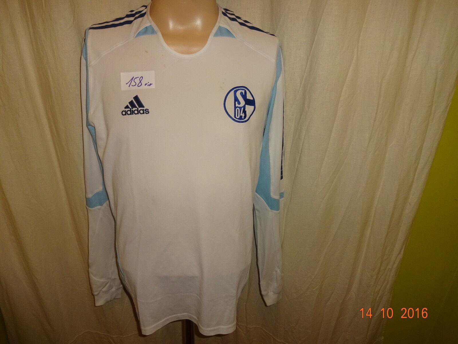FC Schalke 04 Adidas Formotion Langarm Spieler Rohling Trikot 2005 06 Gr.M