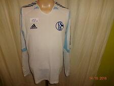 FC Schalke 04 Adidas Formotion Langarm Spieler Rohling Trikot 2005/06 Gr.M