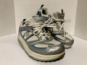 Womens-Sketchers-Fitness-Shape-Ups-Tone-Strength-Walking-Sneaker-Shoes-Size-11