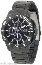 Nautica Men's N23536G Bfd 101 Dive Style Black Chrono Watch