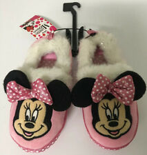 9//10 L 7//8 5//6 Disney Minnie Mouse Toddler Girls Slippers Pink Size S M