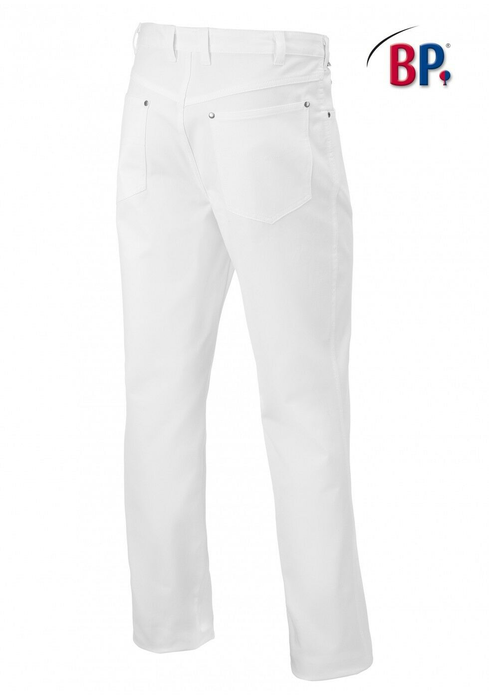 BP Jeans Jeans Jeans Uomo Stretch 1378 690 21 bianco medico Jeans Pantaloni Pantaloni Lavoro Uomo 24-114 628222