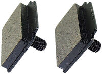 Ski-doo Tundra Lt 1985 1986 1987 Models Spi Semi Metallic Brake Pads Pair