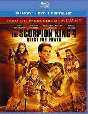 The Scorpion King 4: Quest for Power (Blu-ray/DVD, 2015, 2-Disc Set, Includes...