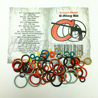 Eclipse Etek 5 Color Coded 3x Oring Rebuild Seal Kit Free Shipping